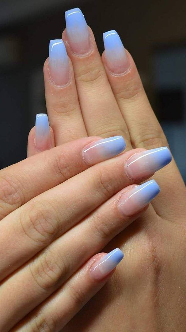 31 Glamour And Cute Ombre Nails Designs Ideas For 2019 Part 14 Pink Ombre Nails Ombre Nail Designs Blue Ombre Nails