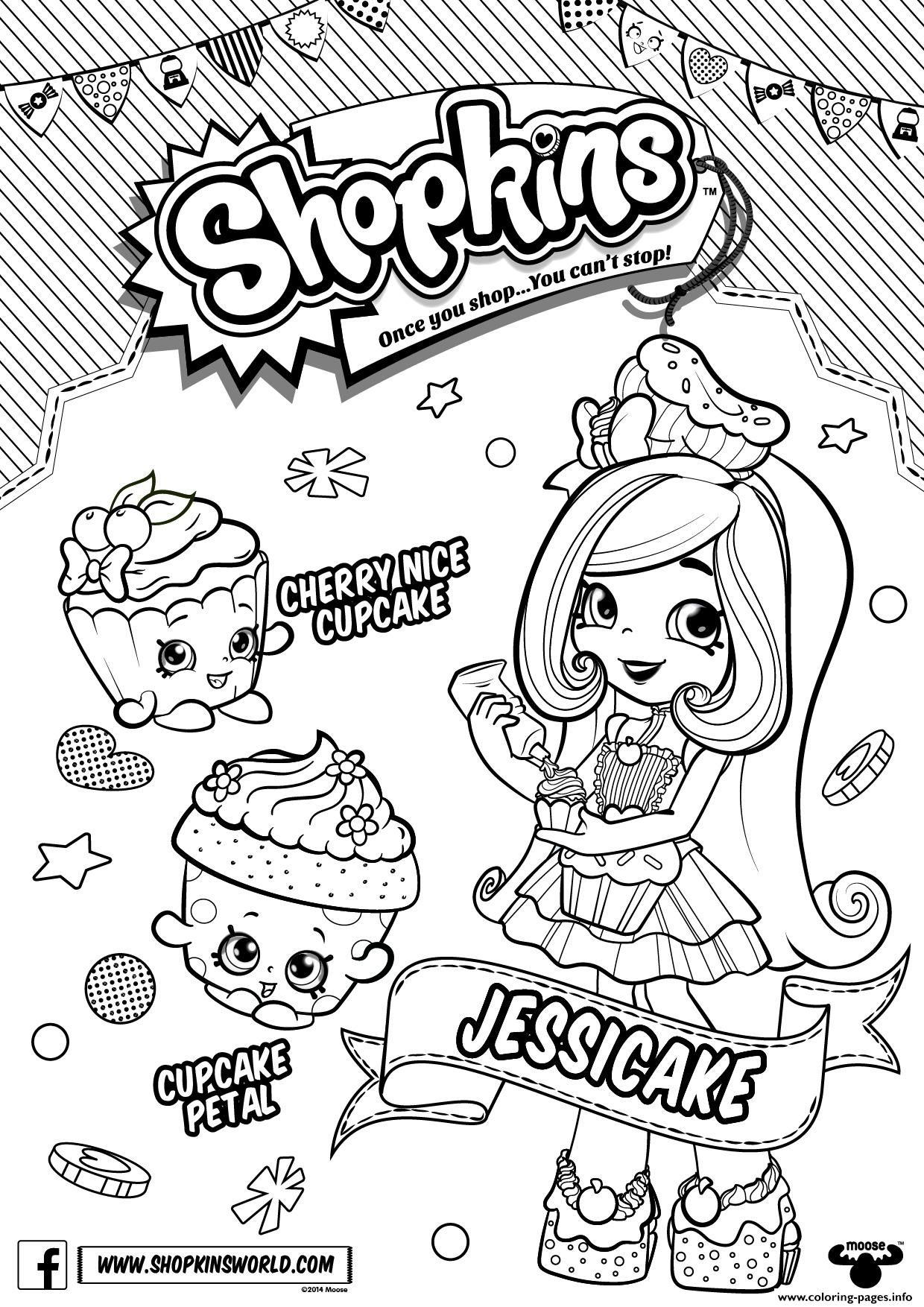 Print Shopkins Season 6 Chef Club Coloring Pages