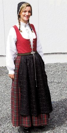 Scandinavian Folklore Clothes Traditional Outfits National Clothes Festival Outfits