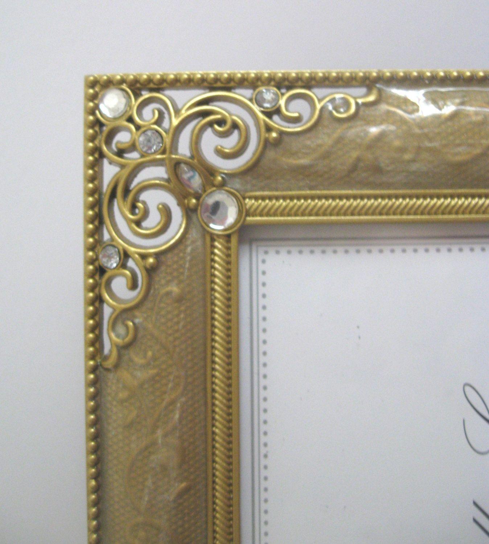 Bella lux gold enamel jewels elegant filigree photo frame very bella lux gold enamel jewels elegant filigree photo frame very ornate jeuxipadfo Choice Image