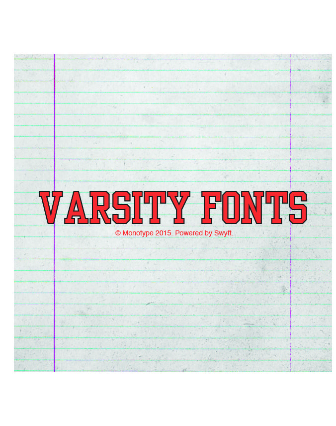 Download Make Your Shots Yearbook-Ready with the Varsity Fonts ...