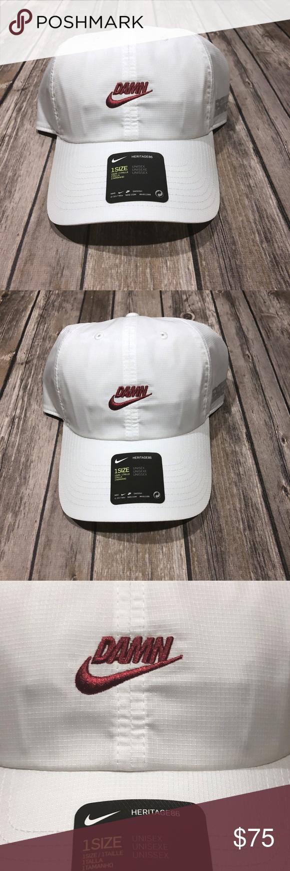99db8844 Nike X Kendrick Lamar Limited Edition DAMN Hat Nike X Kendrick Lamar  Limited Edition DAMN Hat
