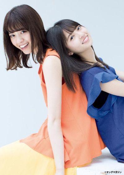 齋藤飛鳥 西野七瀬 Nogizaka46 Pinterest Idol Saito Asuka And