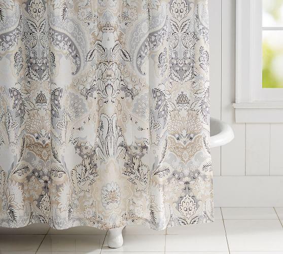 Celeste Print Shower Curtain