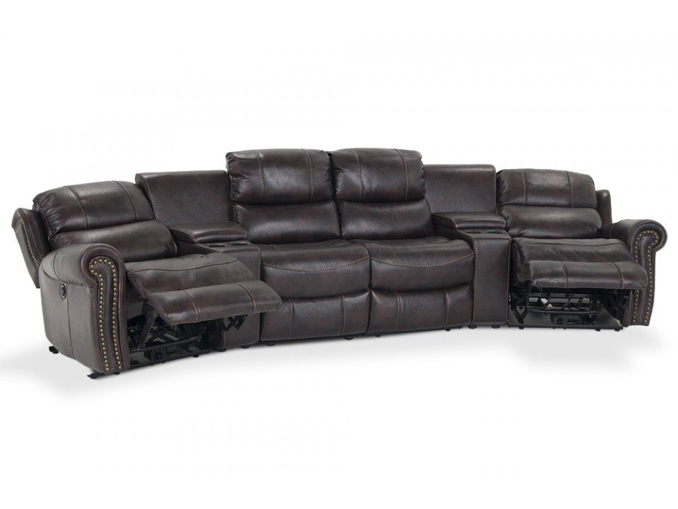 Lannister 6 Piece Home Theater Sectional | Reclining Furniture | Living Room | Bobu0027s Discount Furniture  sc 1 st  Pinterest & Lannister 6 Piece Home Theater Sectional | Reclining Furniture ... islam-shia.org