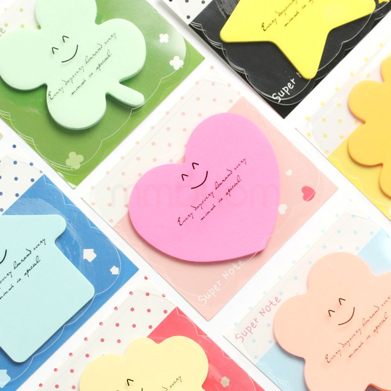New Cute Animal Cat Bear Panda Mini Memo Pad Notebook Set of 4 Fun for Kids