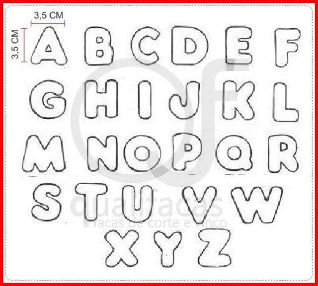 Abecedário - Letras do Alfabeto para imprimir