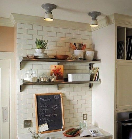 ablage Home Pinterest Ablage und Küche - k chenregal mit beleuchtung