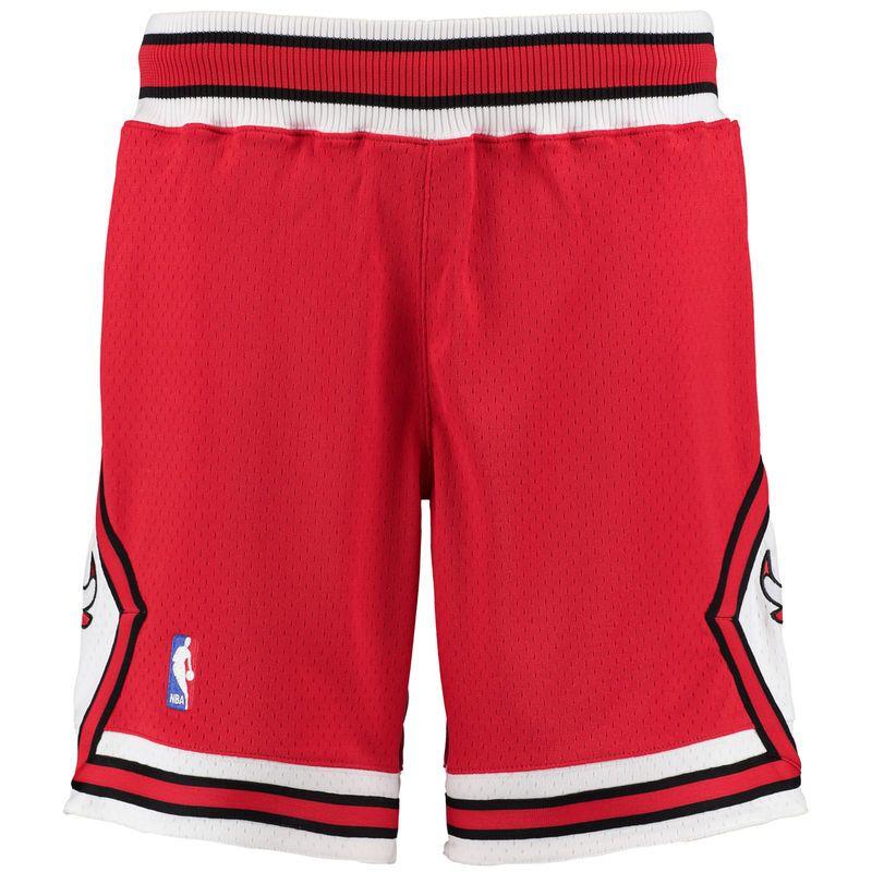 Mitchell & Ness NBA CHICAGO BULLS SWINGMAN SHORT - Pantalón corto de deporte - black VYwitVr8