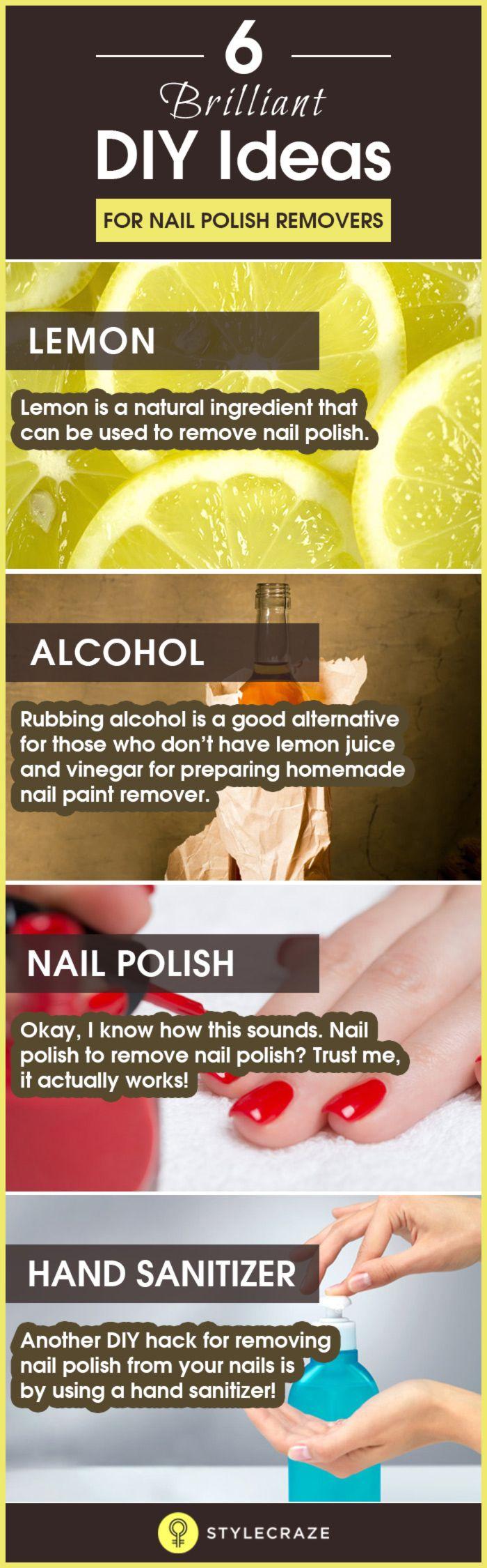 6 Best Diy Homemade Nail Polish Remover Recipes Homemade Nail Polish Homemade Nail Polish Remover Nail Polish Remover