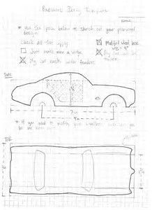 Image Result For Pinewood Derby Car Templates Printable PDF
