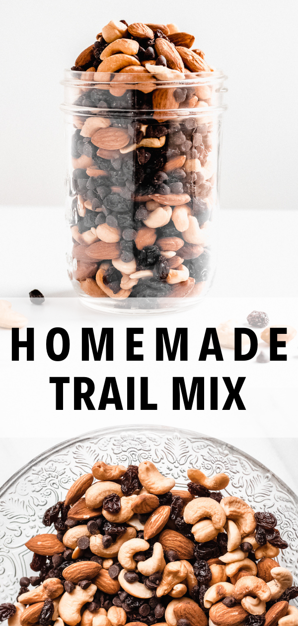 Easy Trail Mix Recipe (Only 4 Ingredients!)