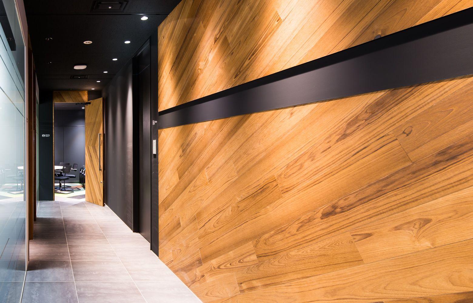 エントランス 廊下 オフィスデザイン 廊下のデザイン オフィス