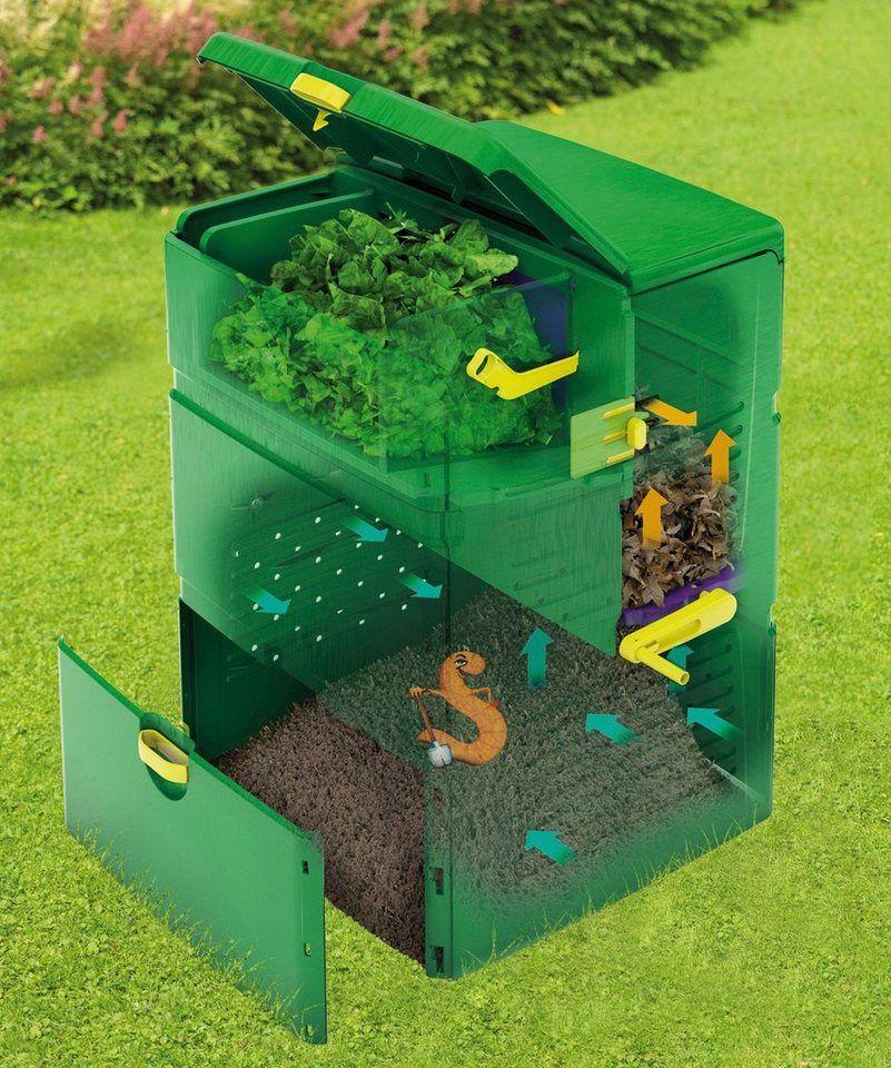 Juwel Thermokomposter Aeroplus 6000 600 L Mit 3 Kammer System Online Kaufen Otto In 2020 Kompost Kompostieren Gartenabfall