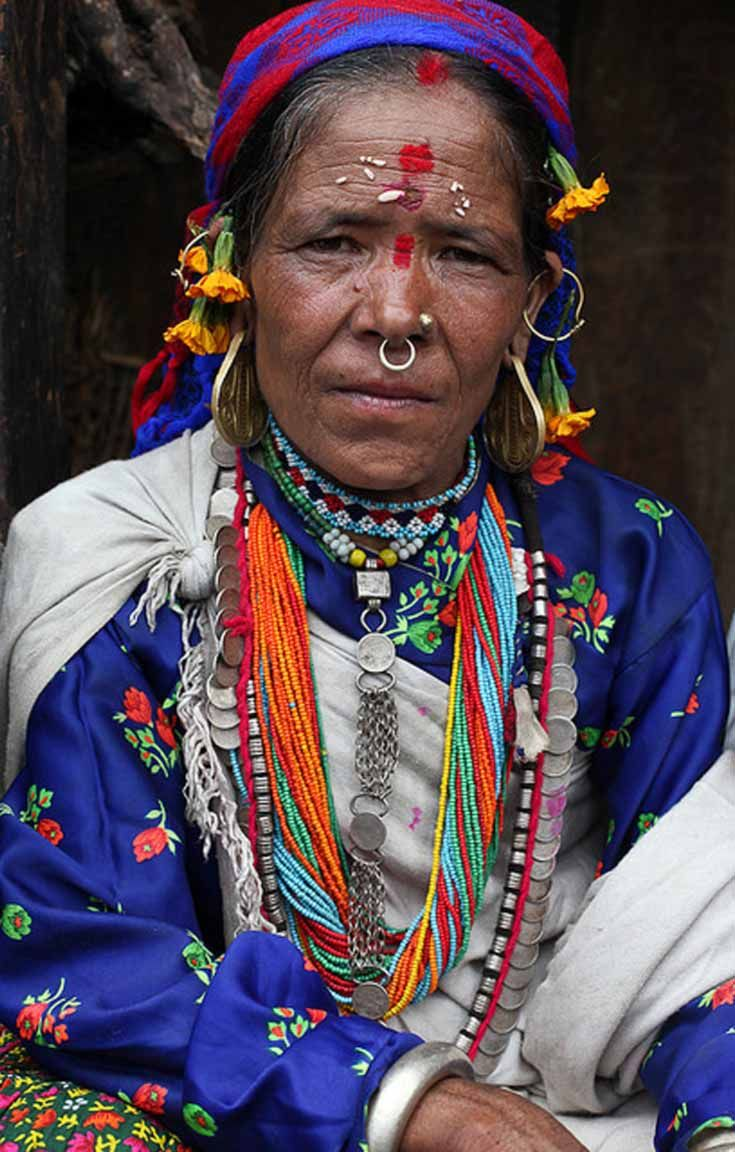Thakuri woman humla nepal nepal photography and photos