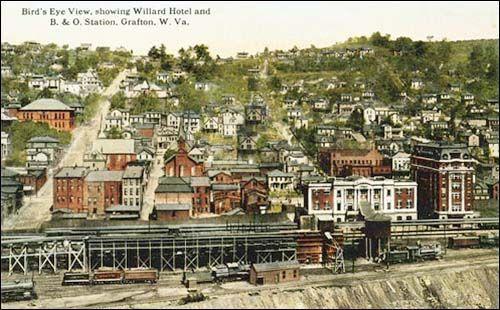 Grafton West Virginia History Downtown
