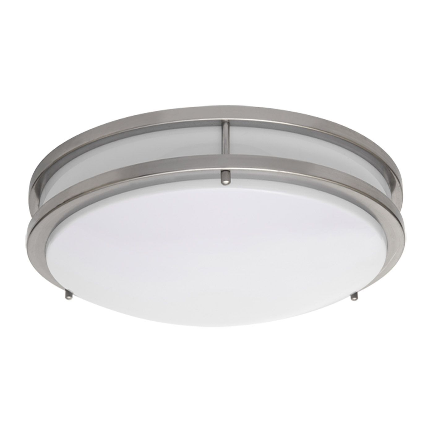 Amax Lighting LED Ceiling Fixtures LED JR00 LED Two Ring Flush Mount
