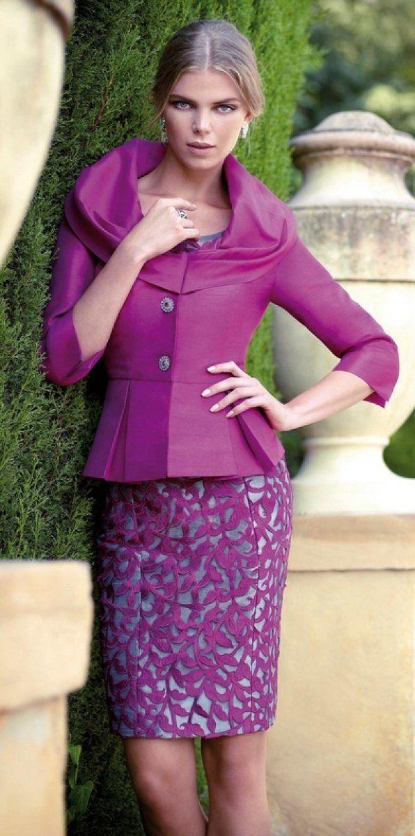 Vestidos para la madrina perfecta | Outfit para trabajar, Ropa de ...