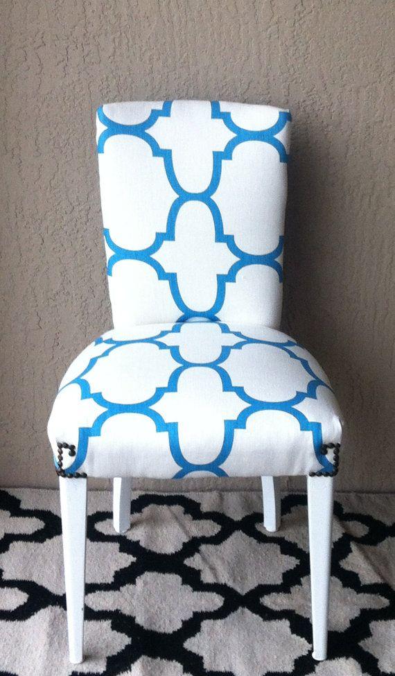 parson chair upholstered chair windsor smith fabric riad fabric rh pinterest com