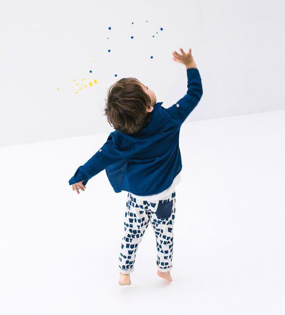 ZARA - KIDS - Letters print leggings