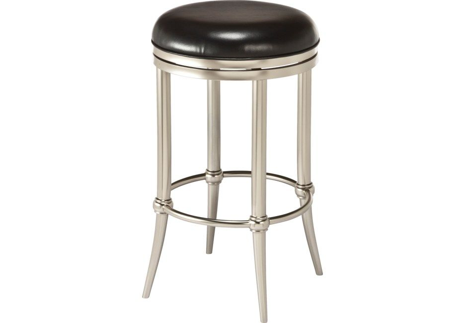 Quantock Black Swivel Counter Height Stool In 2019 Products