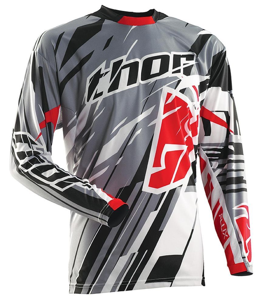 NEW THOR-MX FLUX SHRED MOTOCROSS/OFFROAD ADULT JERSEY