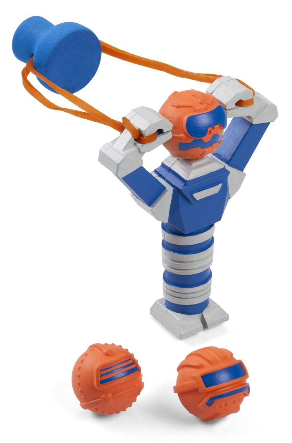 Slingbots - Robot Shaped Toy Slingshot with 3 Foam Balls