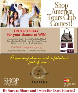 I want to #win a #COACH satchel & wallet! Enter the @ShopAmericaClub & @The_Forum_Shops #contest: