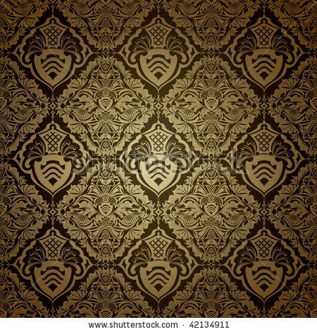 Victorian Wallpaper Patterns   Seamless Wallpaper Pattern  Dark Stock  Vector 42134911   Shutterstock. Victorian Wallpaper Patterns   Seamless Wallpaper Pattern  Dark