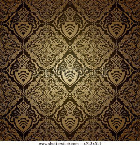Victorian Wallpaper Patterns Seamless Wallpaper Pattern