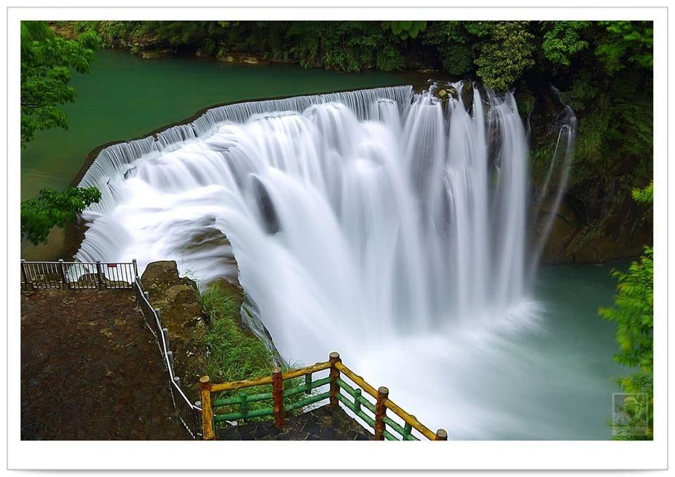 Shifen Waterfall . New Taipei. #Taiwan  新北市 十分瀑布