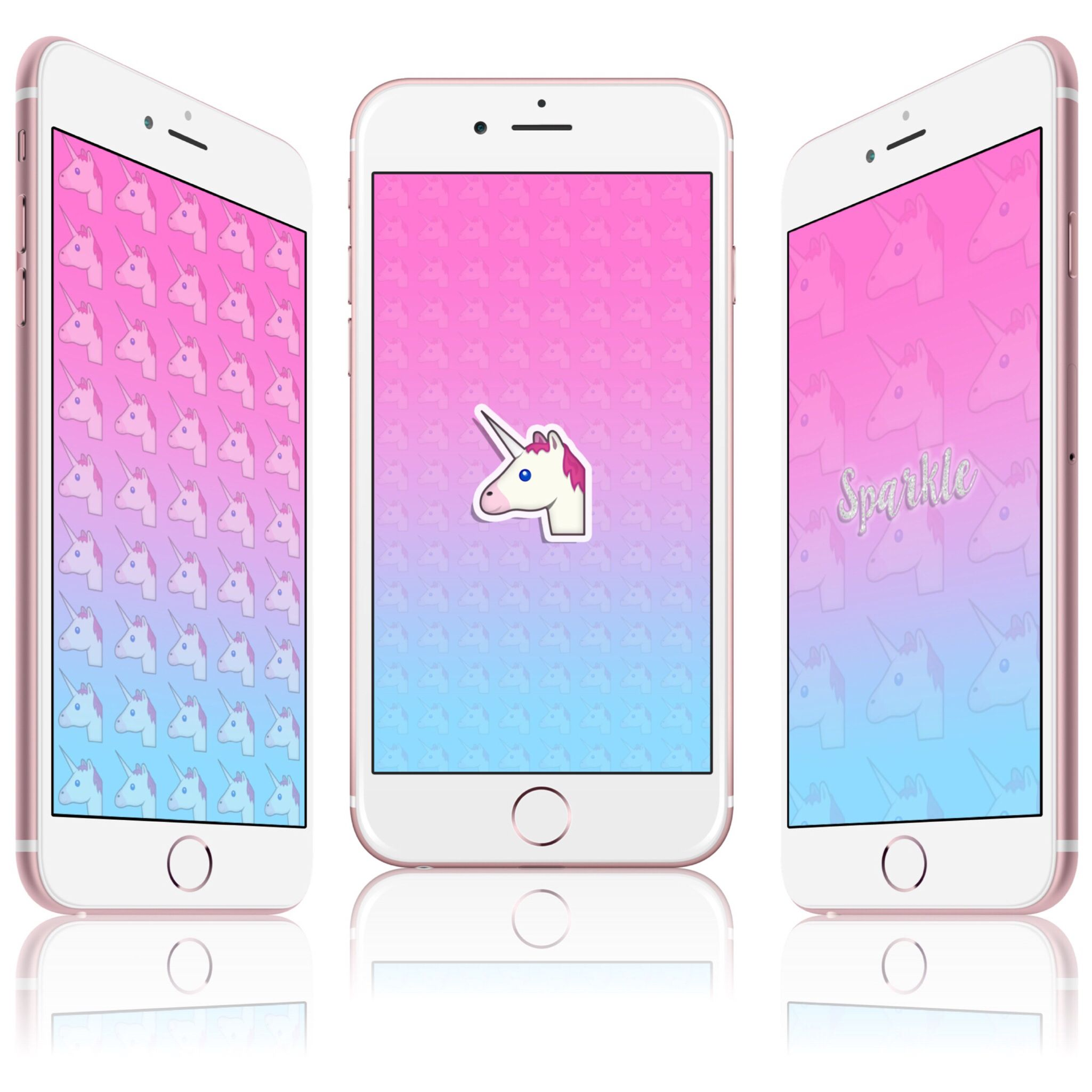 3 Unicorn wallpapers now on my blog (press image to be