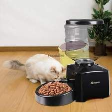 portion control automatic pet feeder timer programmable dog cat food
