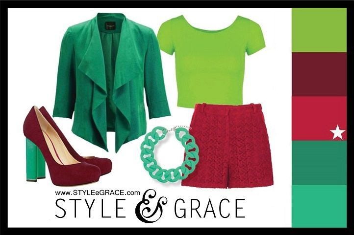 Polyvore fashion set with a color palette inspired by the @PANTONE COLOR, Samba.