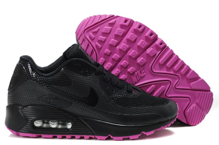 womens Nike Air Max 90 hyperfuse black purple - Google Search