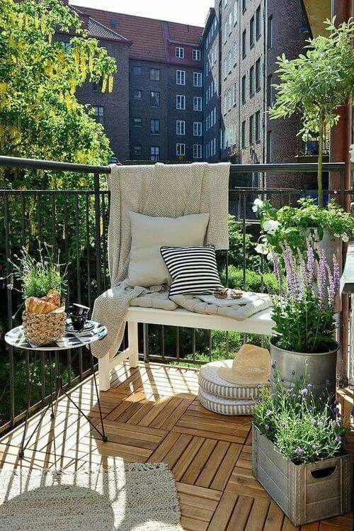 Balkon First Floor Pinterest Balcones, Terrazas y Jardín