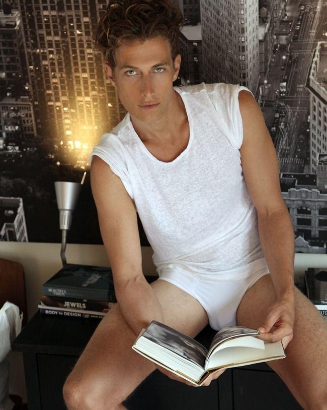 Male Model: Adam Kenworthy by Thomas Synnamon | Fashion of Men's Underwear.