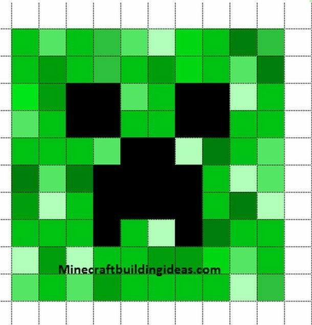 Minecraft pattern for sandbox app Minecraft quilt