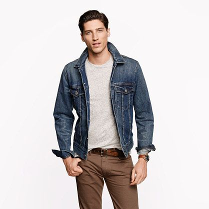 1000  images about Men's Classic Denim Jackets on Pinterest | Buy ...