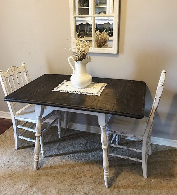 Distressed Drop/Leaf Kitchen Table Small by ...