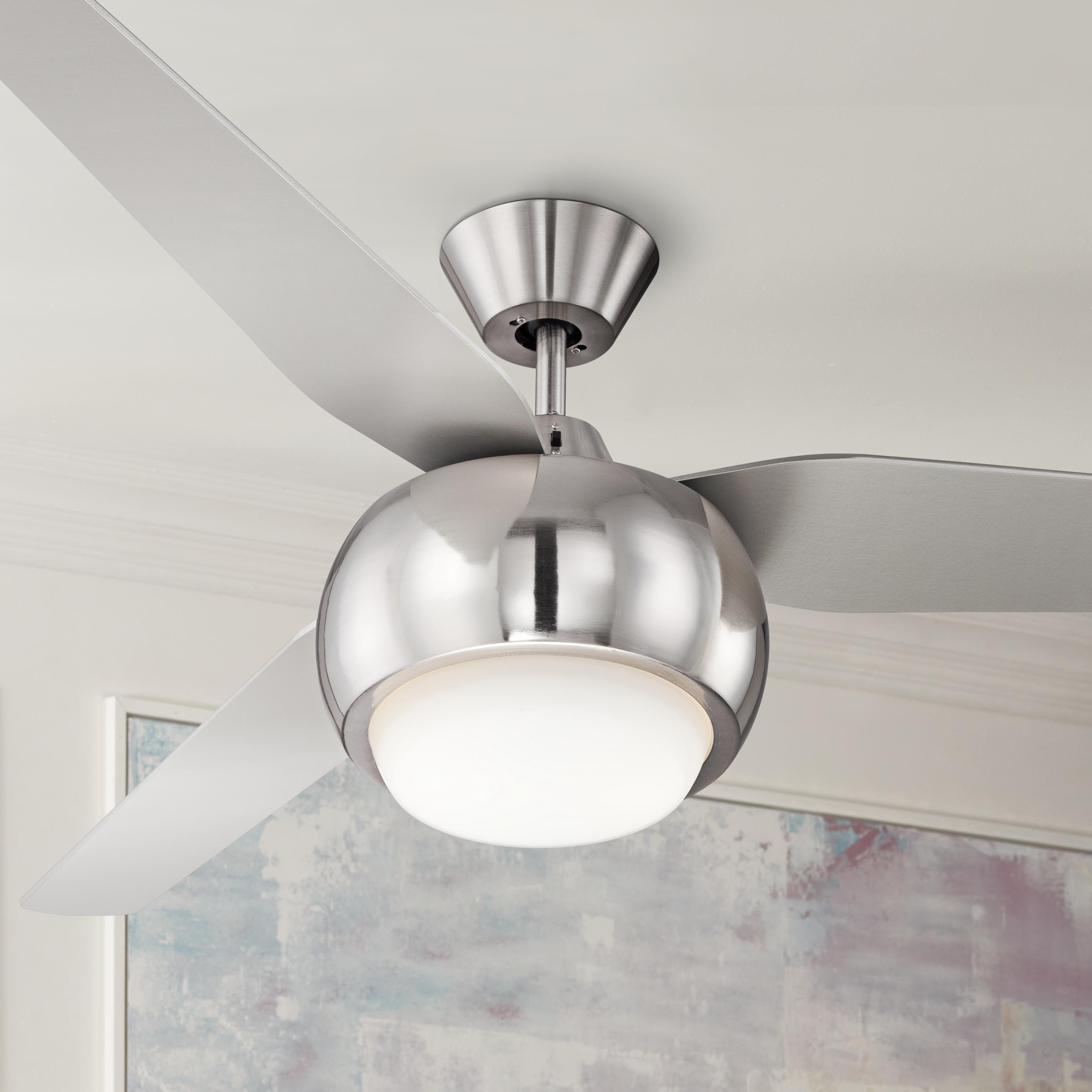 "54"" Casa Reaction™ Brushed Nickel Ceiling Fan"
