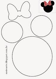 Resultado de imagem para printable mickey mouse ears template   FP ...