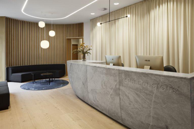 Smiledesigns Dental Clinic Clinic Interior Design Healthcare