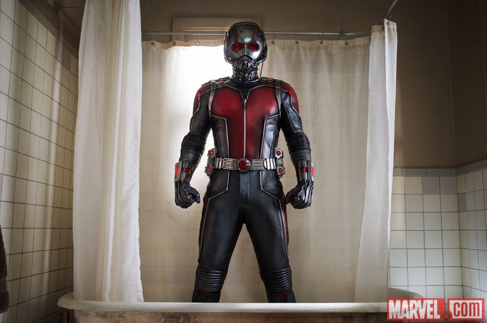 "The Ant-Man suit allows you to shrink in size and increase in strength from Marvel's ""Ant-Man."""