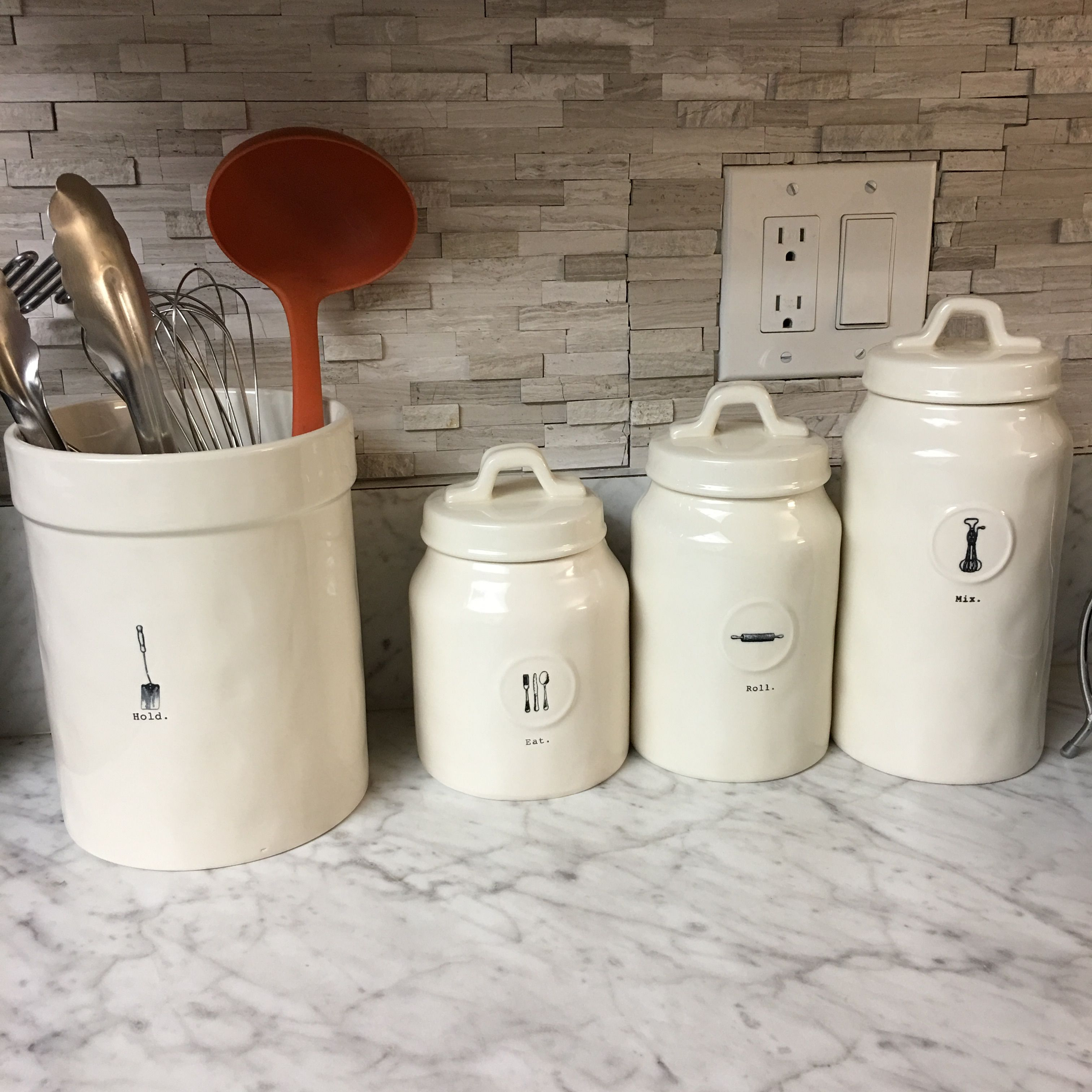 I have the Mix canister. I want the rest of this set! | Rae Dunn ...