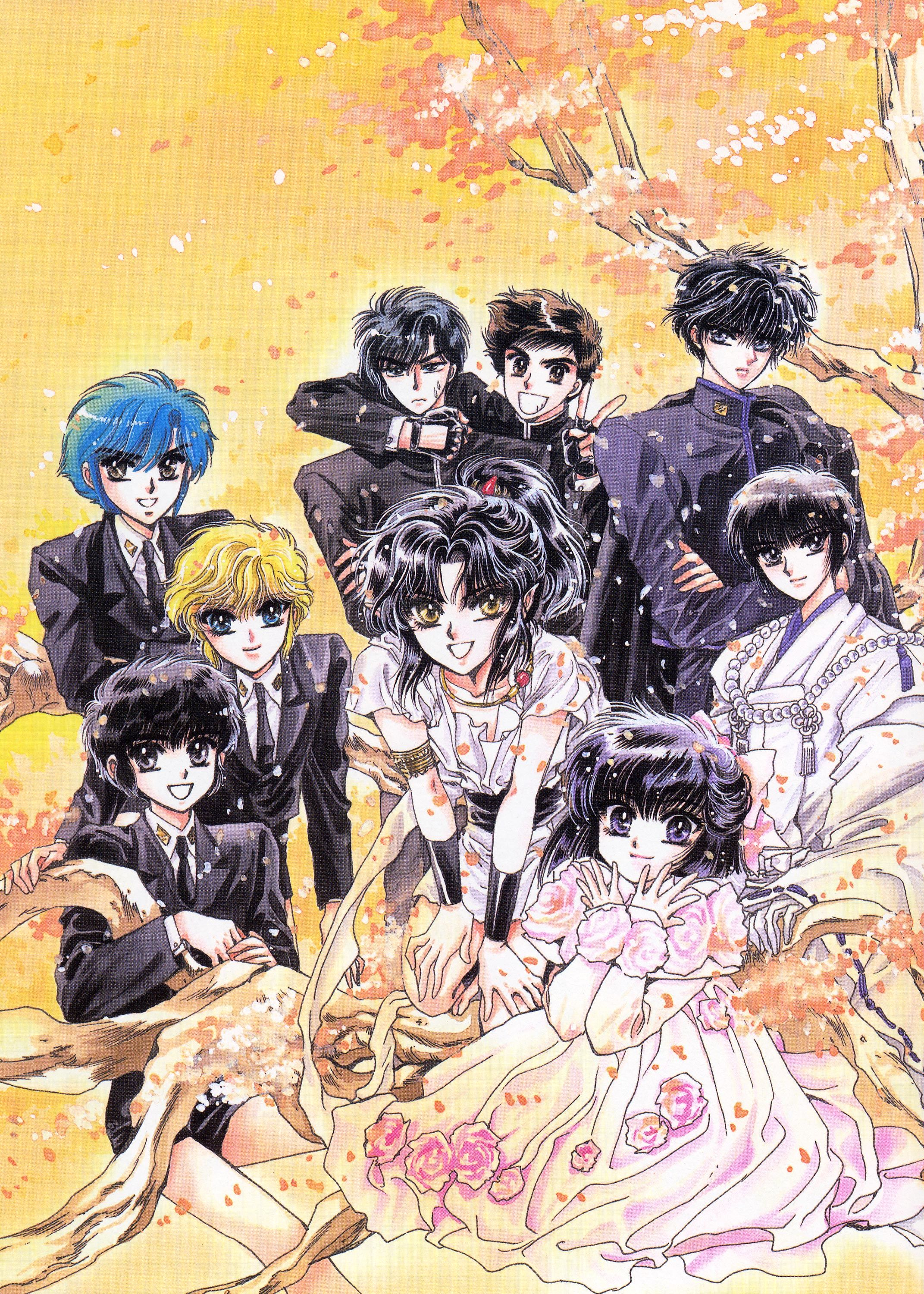 The Increadible Thing About Clamp Is That They Take Their Stories And Intertwine Characters And Universe I M Not Talking About Rg Veda As Part Of The マンガ クランプ