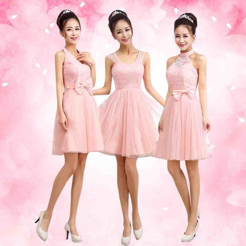 Rose Petal Pink Bridesmaid Dresses | pink bridesmaid dresses | Pinterest