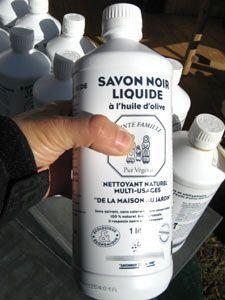 Flacon de savon noir liquide contre les pucerons et autres 5 c s de savon noir liquide de - Savon noir pucerons dosage ...