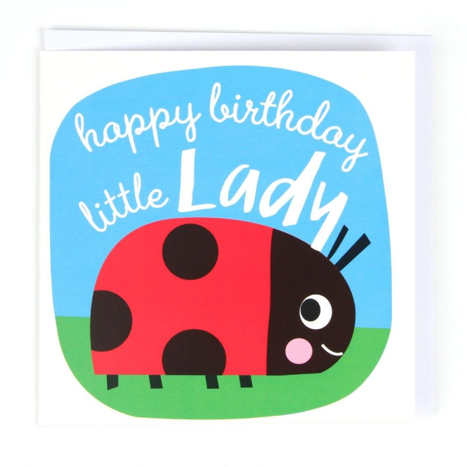 Little lady bug birthday card by V ronique Petit https – Ladybug Birthday Cards