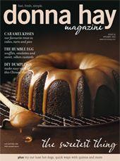 Este número da revista Donna Hay está espectacular. Disponível na ApStore.